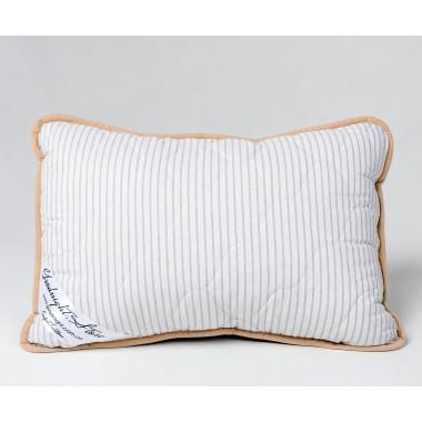 Гіпоалергенна подушка Goodnight.Store 40х60 сіра / біла у смужку (255174323550)