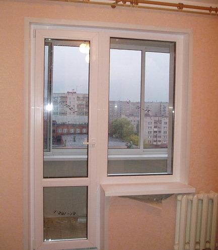 Балконный блок OpenTeck 70 двухкамерный стеклопакет Недорого