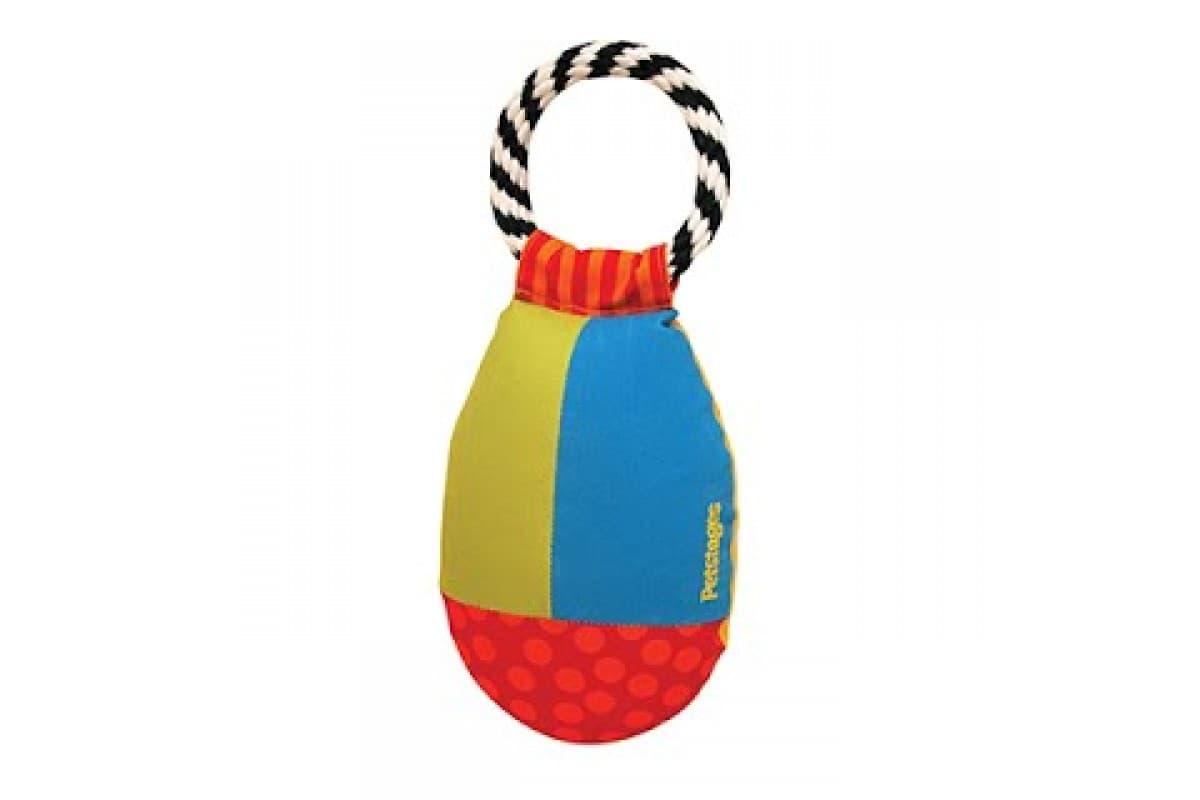 Прочная игрушка для собак OutwardHound Petstages Груша с кольцом тканевая для перетаскивания