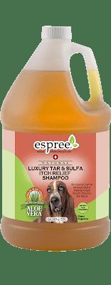 Шампунь ESPREE Luxury Tar&Sulfa Shampoo с серой от перхоти. Противогрибковый эффект 3,79л