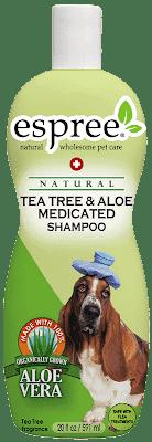 Шампунь ESPREE Tea Tree & Aloe Shampoo с маслом чайного дерева и алоэ вера 591 мл