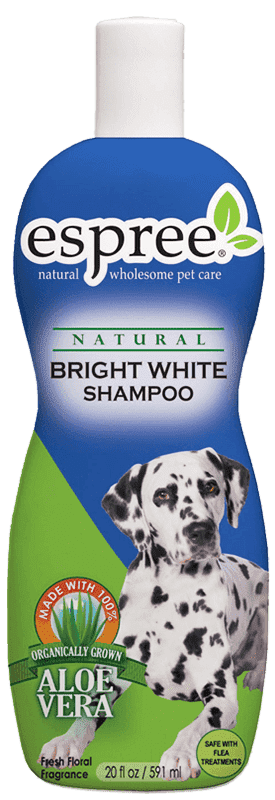 Шампунь ESPREE Bright White Shampoo для собак белых и светлых окрасов 355 мл