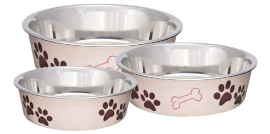 Миска для кошек и собак Bella Bowl Папарацци розовая