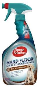 Средство для нейтрализации запахов и удаления стойких пятен c твердых поверхностей Simple Solution Hardfloors stain and odor remover 945 мл
