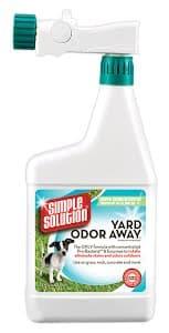 Средство для нейтрализации запахов мочи и кала на садовых участках и газоне Simple Solution Yard odor away Hose spray concentrate 945 мл