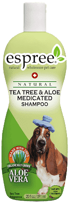 Шампунь ESPREE Tea Tree & Aloe Shampoo с маслом чайного дерева и алоэ вера 355 мл