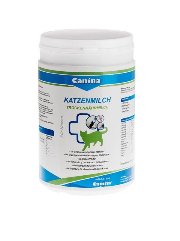 Заменитель молока для кошек Canina Katzenmilch для взрослых котов и котят с первых дней жизни