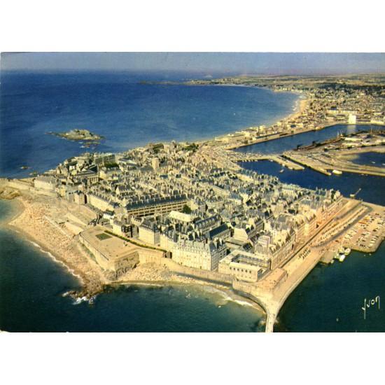 Почтовая открытка - виды Франции - Бретань