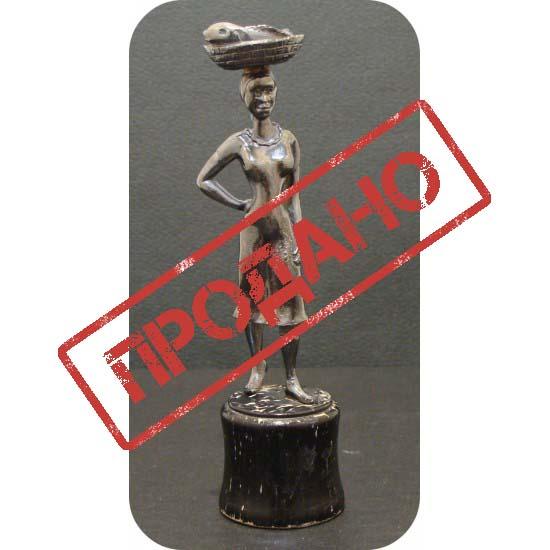 Статуэтка в африканском стиле, Серебро, Европа, начало XX века