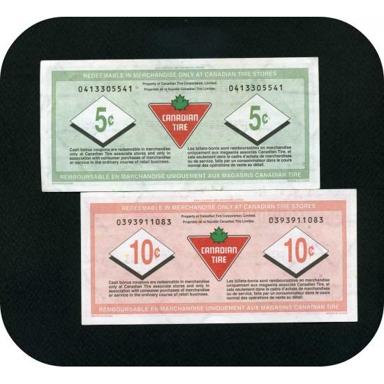 Набор канадских тайров из 2-х банкнот, Канада