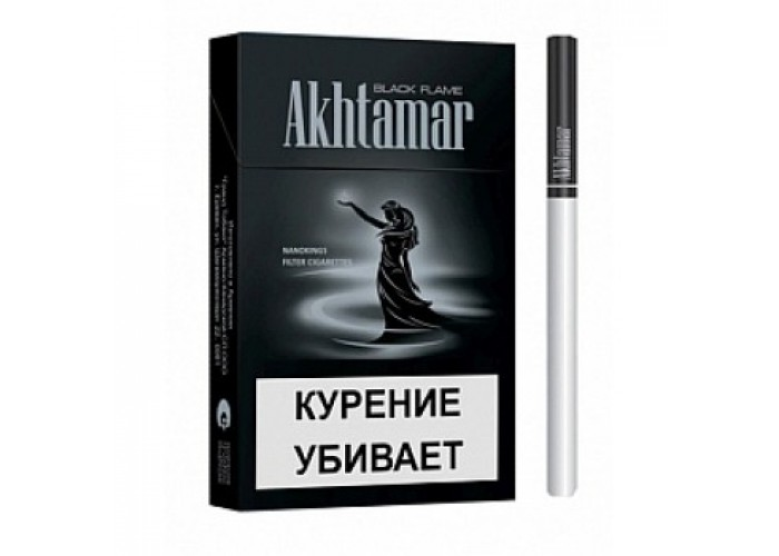 Ахтамар Блек Флем Нанокингс сигареты (Akhtamar Black Flame Nanokings 5.4/84)