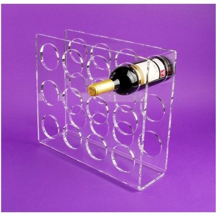 Perspex WINE STAND FLOKY