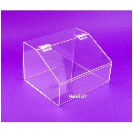 Acrylic plexiglas food box SIMPLE II