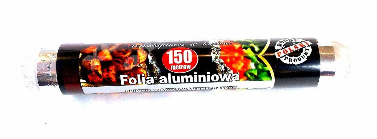 Фольга алюминиевая 29см/150м (xxx) 400гр