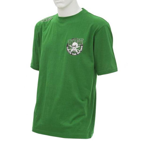 "Футболка DAM MADCAT ""SCULL&CLONKS""  L цвет-зеленый"