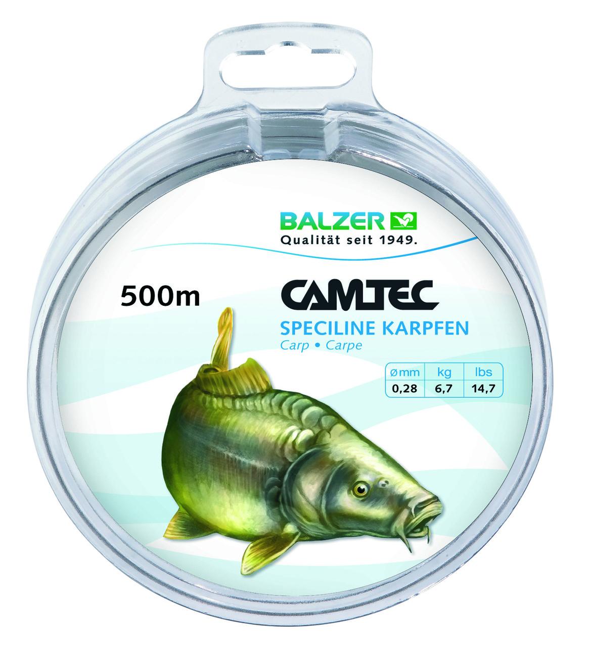 Леска Balzer Camtec карп 0.28мм. 500м.
