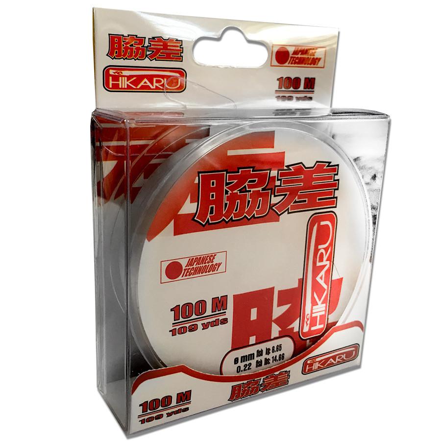 Леска Lineaeffe Hikaru 100м.  0.30мм  FishTest 11.40кг (прозрачная)  Made in Japan
