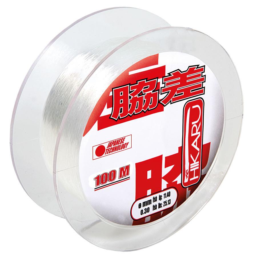 Леска Lineaeffe Hikaru 100м.х10  0.35мм  FishTest 12.35кг (прозрачная)  Made in Japan