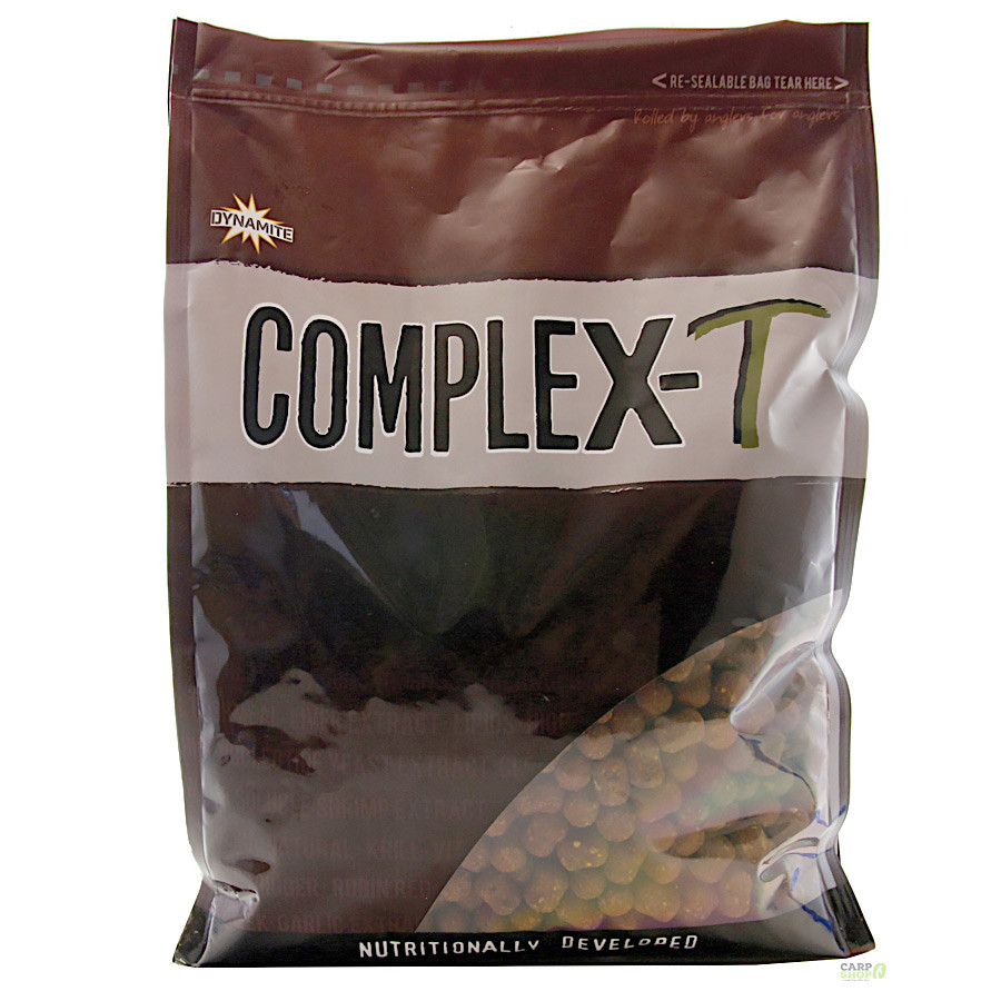 Бойлы тонущие Dynamite Baits CompleX-T Shelf Life 20mm 1kg