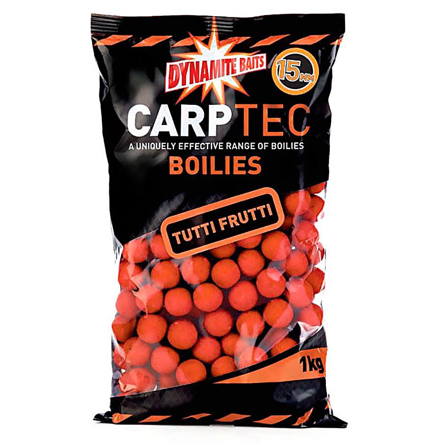 Бойлы тонущие Dynamite Baits CarpTec Tutti Frutti 15mm 1kg