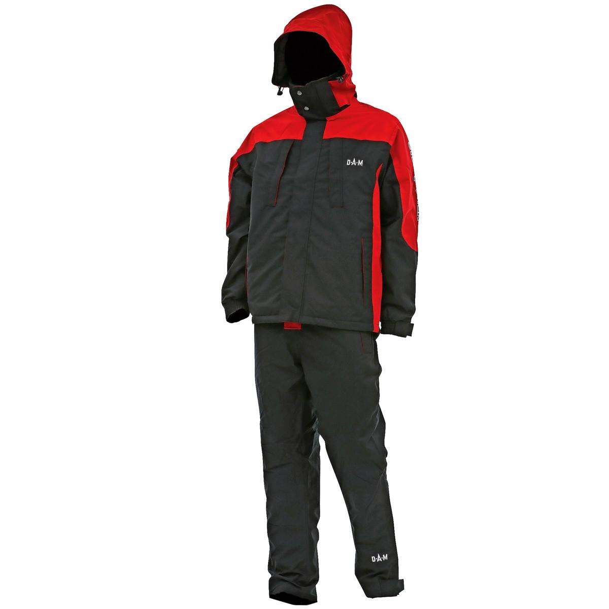 Костюм зимний DAM Steelpower Red Thermo куртка+полукомбинезон  XXXL