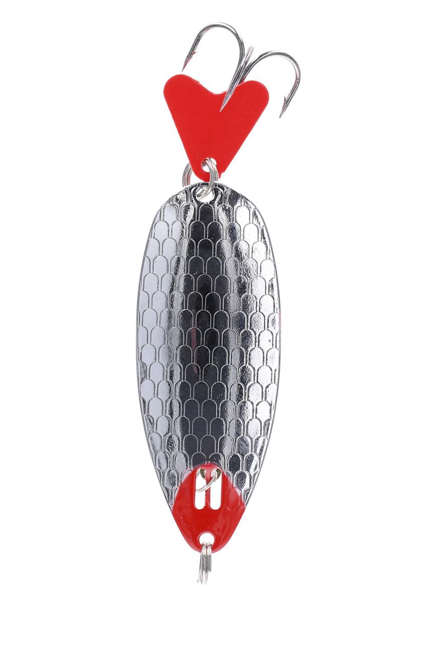 Блесна-колебалка Mikado Hunter № 1  7гр 7.6см silver