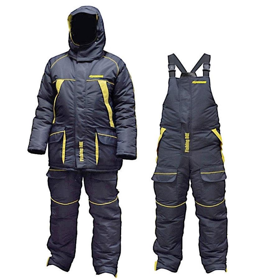 Костюм зимний Fishing ROI Thermal Pro 2 черно-желтый XXXL