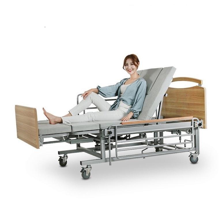 Медицинская кровать с туалетом MIRID Е08 (механический привод)