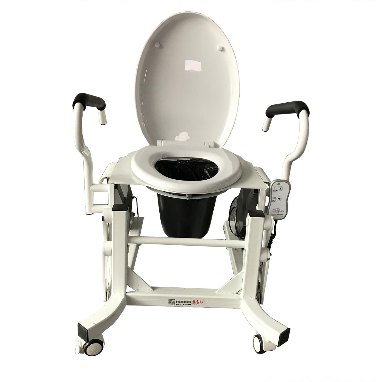 Кресло для туалета c подъемным устройством и подставным судном MIRID LWY002