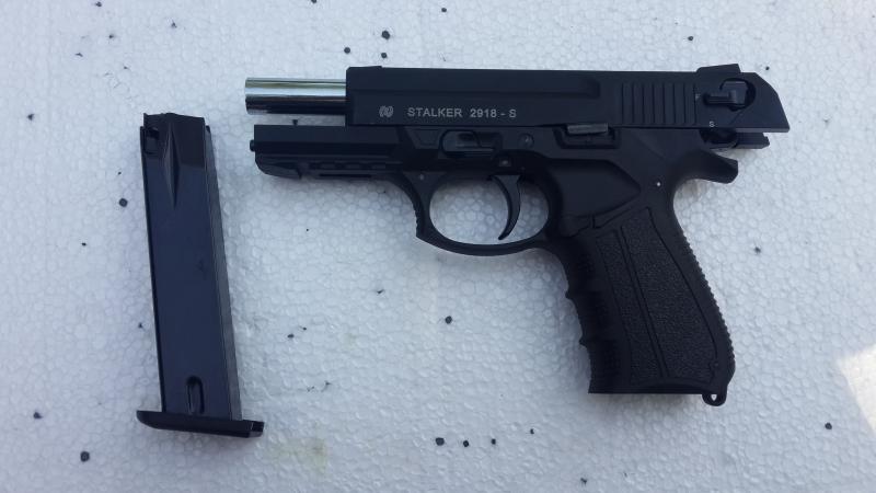 Стартовый пистолет Stalker-2918