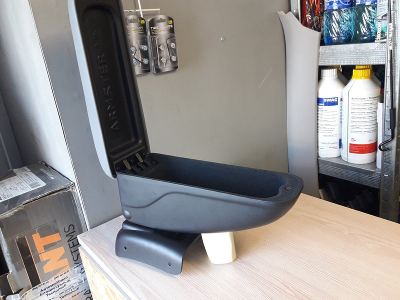 Подлокотник Armster серый для Daewoo Lanos ЗАЗ Ланос ЗАЗ Сенс