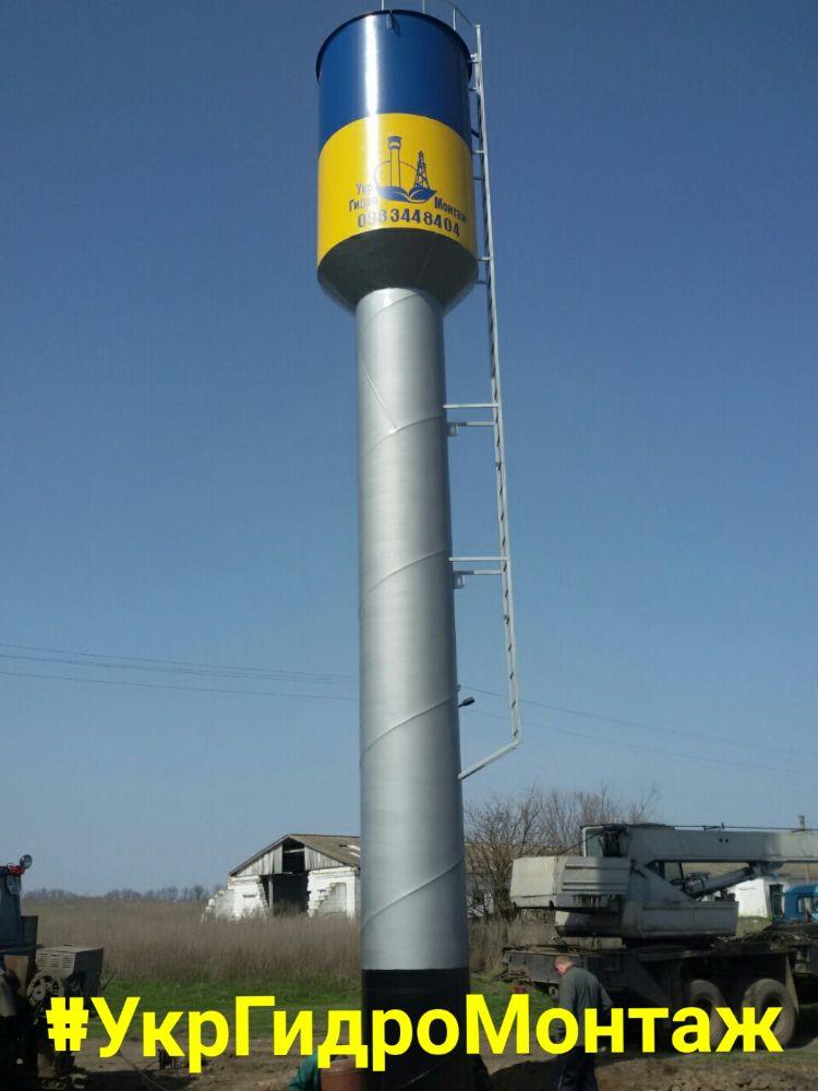 Продам Водонапорную башню Рожновкого,заводскую,новую