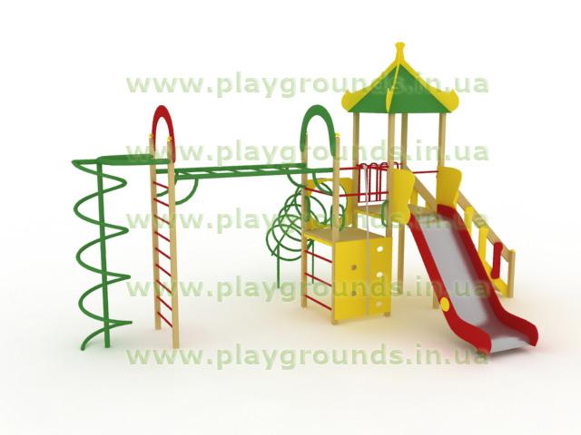 Детские площадки всегда в наличии со склада.