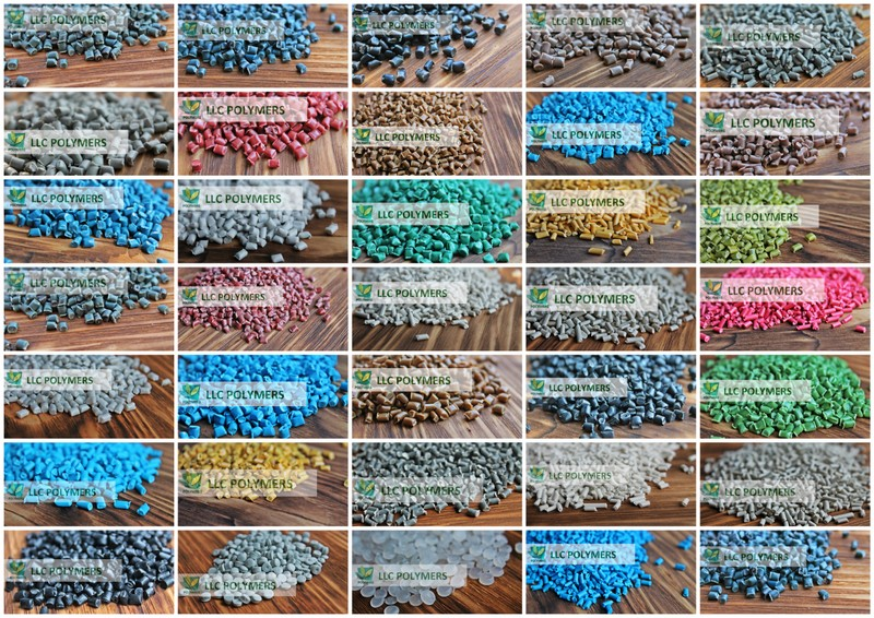 Вторичная гранула HDPE, полиэтилен вторичный для труб, флаконов, канистр, ПП, ПС, ПВД, ПНД