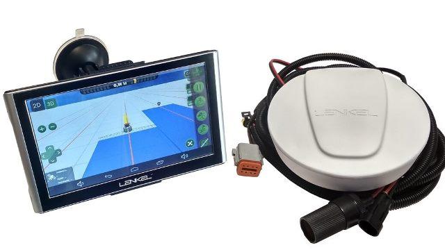 Навигатор для трактора, GPS навигация для тракторов. Курсоуказатель.