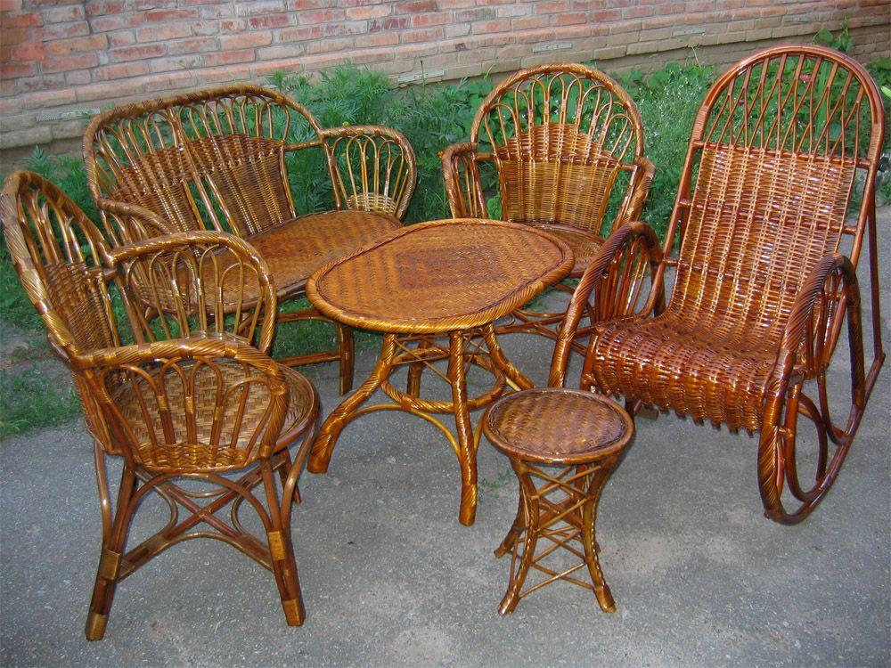 Мебель плетеная от изготовителя