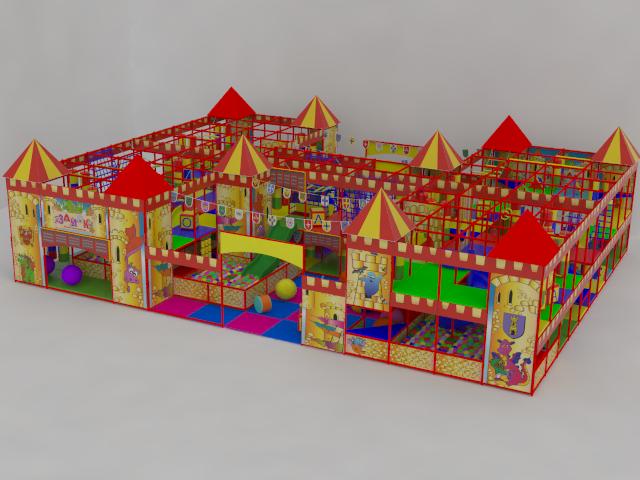 Детские игровые лабиринты от производителя.
