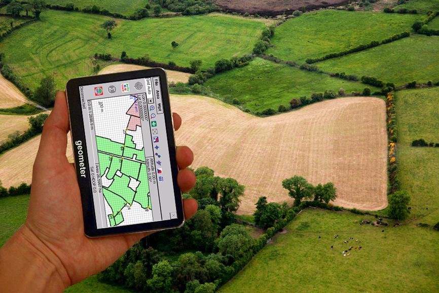Геометр S5 new - точне вимірювання площі полів