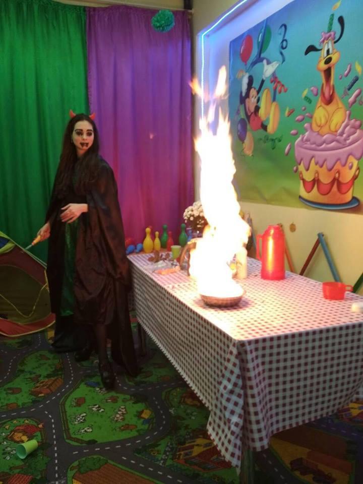 Праздник для детей (Хэллоуин)