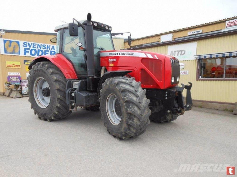 Трактор колесный Massey Ferguson 8480, 2007г.в., 300л.с