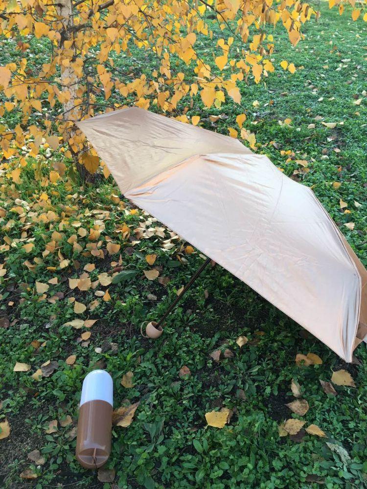 Зонтик в чехле-капсуле
