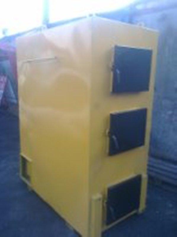 Твердотопливный пиролизный котел воздушного отопления KFPV-150  от производителя