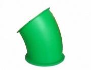Пластиковые комплектующие для детских площадок горка труба поворот 30 градусов