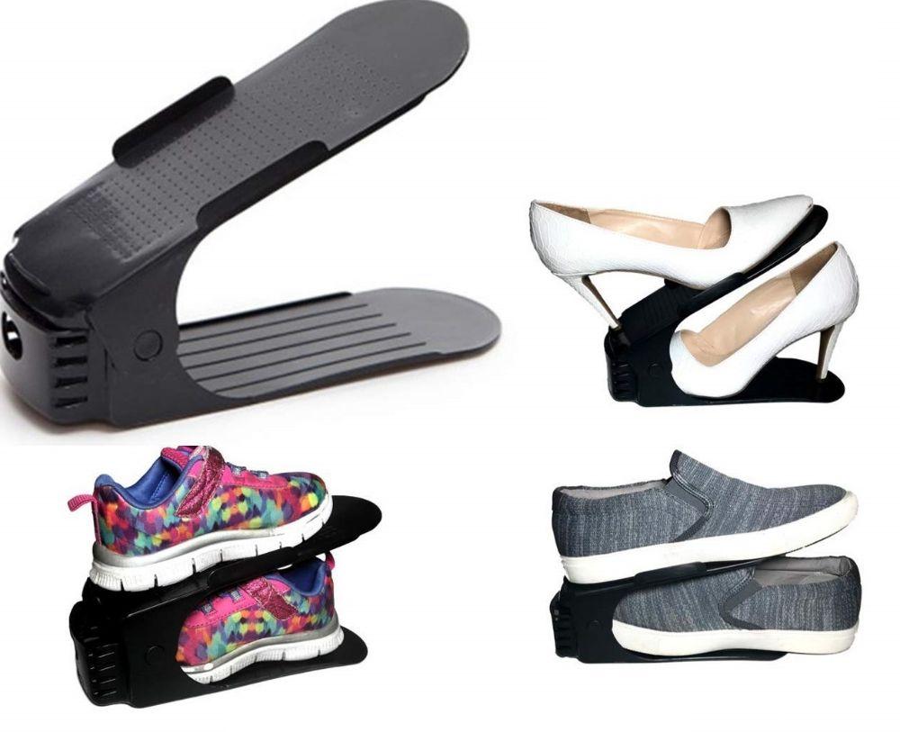 Подставка для обуви двойная. Органайзер для обуви