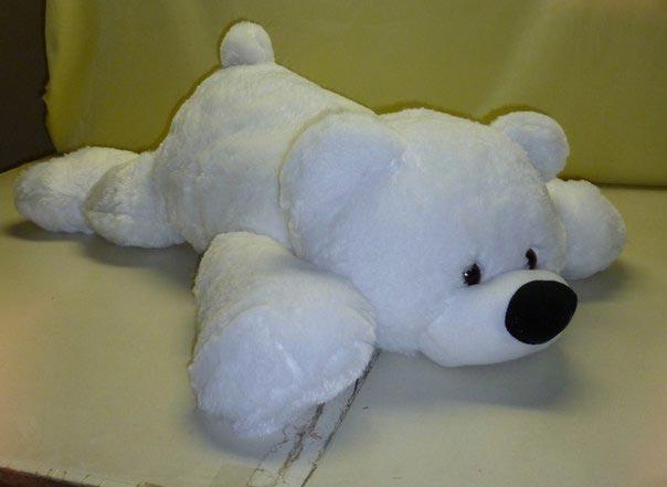 """Мягкая игрушка медведь лежачий """"Умка"""" 45 см"""