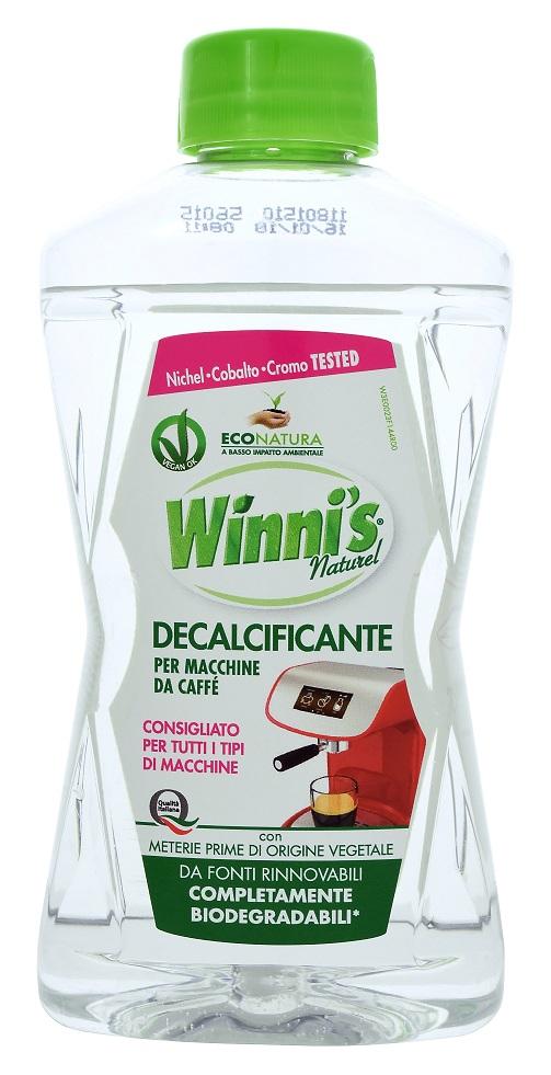 Гипоаллергенный очиститель для кофеварок Winni's (250 мл.)