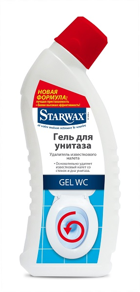 Гель для очистки унитаза Starwax (0,75 л.)