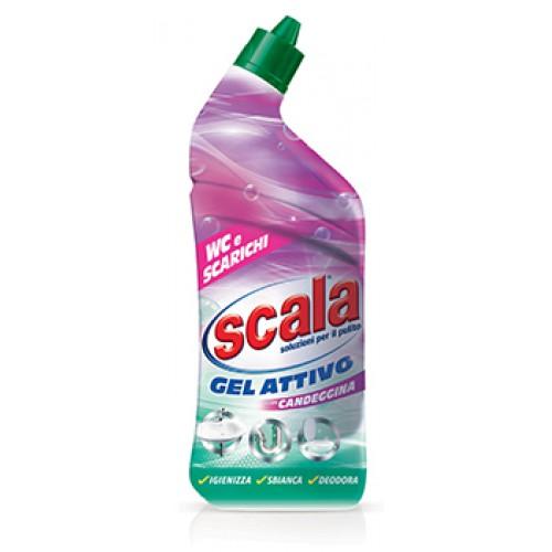 Активный гель с отбеливающим эффектом для WC Scala (0,7 л.)