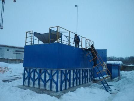 Оборудование для приготовления КАС и других жидких удобрений