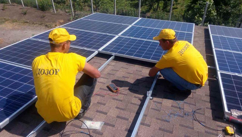 Монтаж солнечных электростанций под ключ